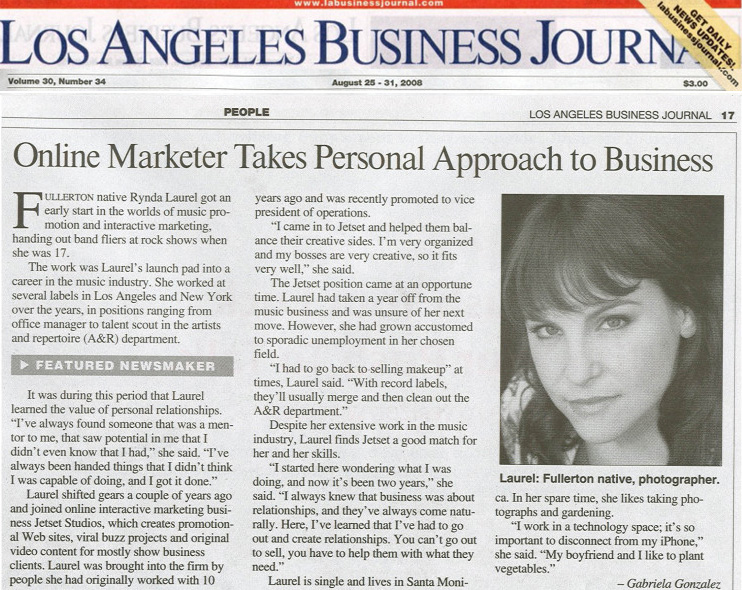 rynda laurel LA Business Journal