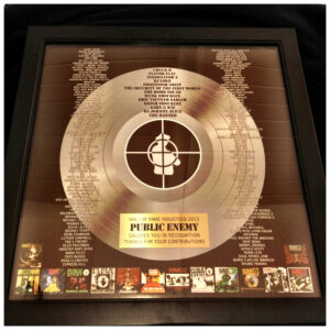 Public Enemy Rockhall Plaque